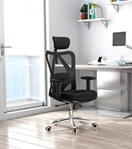 pick ergonomic office chair with headrest