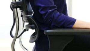 ergonomic mesh chair with lumbar support