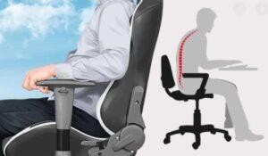 ergonomic computer chair lumbar support