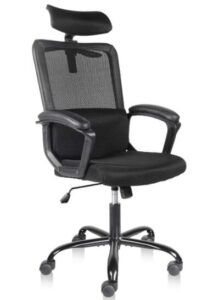 ergonomic chair without back