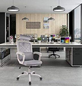 white ergonomic office chairs