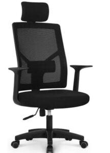 black ergonomic office chairs